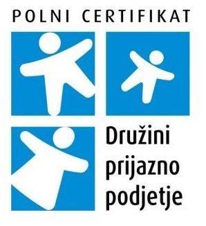 polni certifikat - družini prijazno podjetje